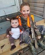 Hunting Buddies Homemade Costume