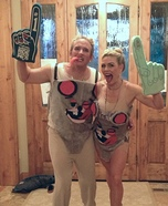 Husband Wife Miley Cyrus Homemade Costume