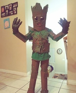 I am Groot Homemade Costume