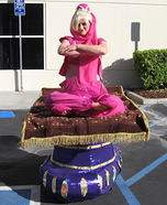 Illusion costume ideas - I dream of Jeannie Illusion Halloween Costume