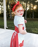 Girl's I Love Lucy Costume