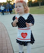 I Love Lucy Baby Costume