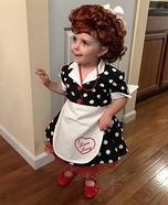 I Love Lucy Baby Homemade Costume