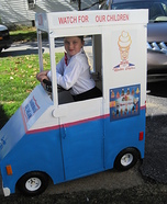 Ice-Cream Truck Homemade Costume