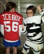 Ice Box & Jake from Little Giants Homemade Costume