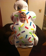 Homemade Ice Cream Cone Costume