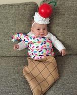 Ice Cream Cone Homemade Costume