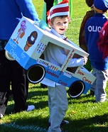 Ice Cream Man Homemade Costume