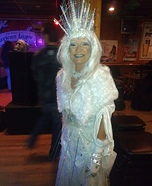 Ice Princess Homemade Costume