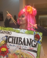 Ichiban Instant Noodle Homemade Costume