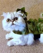 Iguana Cat Homemade Costume