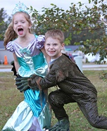 Swamp Monster and Mermaid Costumes