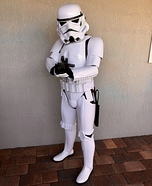 Imperial Stormtrooper Homemade Costume