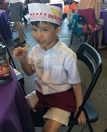 In N Out Homemade Costume