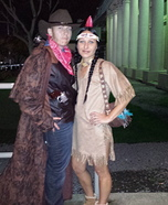 Indian and Cowboy Homemade Costume