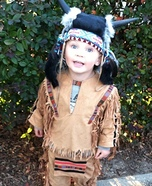 Homemade Indian Chief Costume