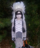 Indian Ghost Homemade Costume