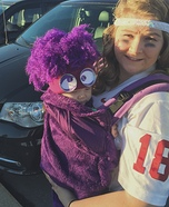 Infant Purple Minion Homemade Costume