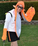 Inkling Girl Homemade Costume