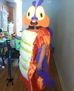 Insectosaurus Homemade Costume