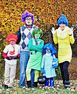Inside Out Family Halloween Costume Idea