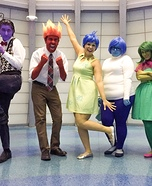 DIY Inside Out Family Costume