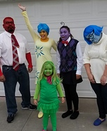 Coolest Inside Out Family Costume