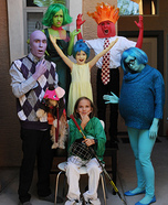 Inside Out Family Halloween Costume