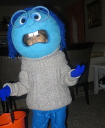DIY Inside Out Sadness Costume