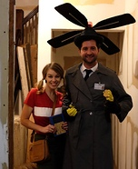 Inspector Gadget and Penny Homemade Costume