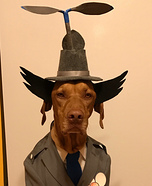 Inspector Maximus Homemade Costume