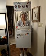 Insta-Gram Homemade Costume