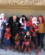 Into the Spiderverse Homemade Costume