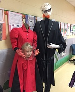Invisible Man and Headless Woman Homemade Costume