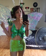 Iridescent Butterfly Homemade Costume