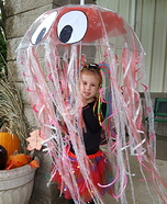 Iridescent Jellyfish Homemade Costume