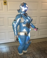 Iron Girl Homemade Costume