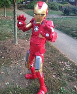 Iron Man Costume for a Boy
