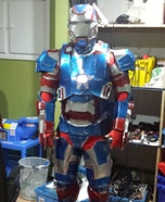 Iron Man Mark VI Homemade Costume