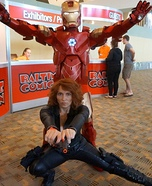 Ironman and Black Widow Couples Costume