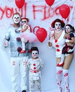 IT 2 Family Homemade Costume