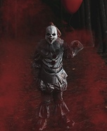 IT Pennywise and Georgie Homemade Costume