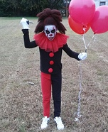 IT Pennywise the Dancing Clown Homemade Costume