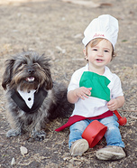 Italian Chef and Maitre d' Homemade Costume