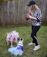 It's Football Season! Homemade Costume