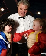 Ivan Drago and Rocky Homemade Costume