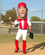 Ivan Pudge Rodriguez Bobblehead Homemade Costume