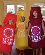 IZZE Bottles Costume