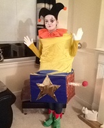 DIY Jack-in-the-Box Costume