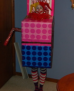 Homemade Jack-in-the-Box Costume